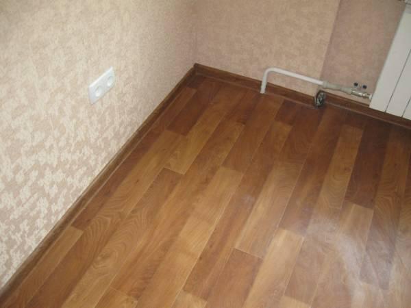 Укладка ламината своими руками по деревянному полу