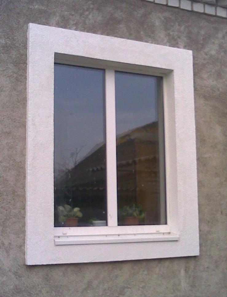 Наружные откосы на окна своими руками фото
